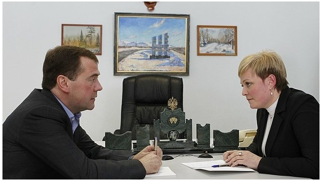 """Губернатором Мурманской области стала """"никелевая леди"""" Марина Ковтун"""