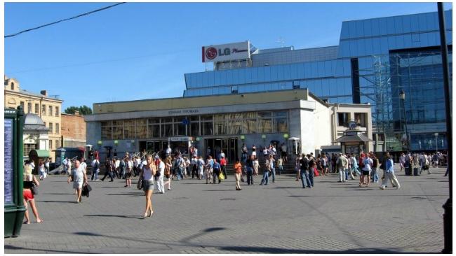Правительство Петербурга утвердило проект планировки Сенной площади