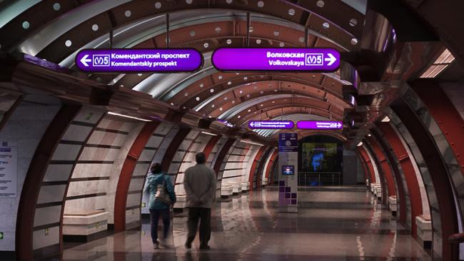 Метрострой получил половину от обещанного аванса на строительство фиолетовой линии метро