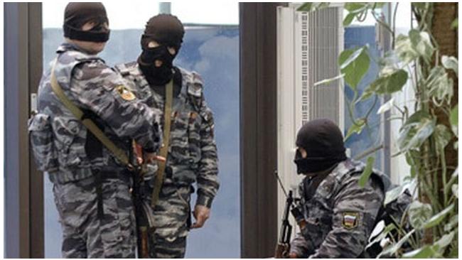 """Экономическая полиция проводит обыски в офисах банка """"Легион"""""""