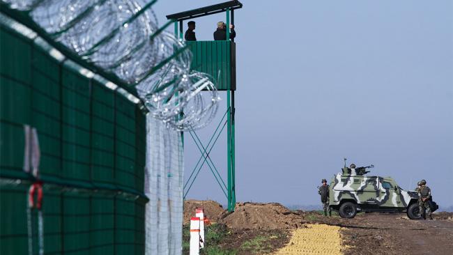 Украина установила комплексы ядерного контроля на границе с Россией