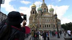В этом году иностранцы стали чаще посещать Россию на 25%