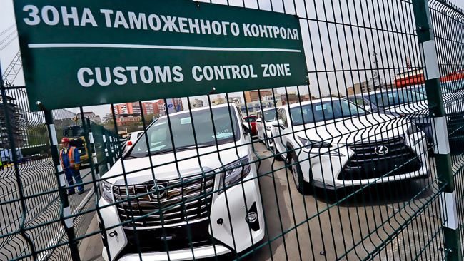 Задолженность иностранцев по пошлинам на временно ввозимые автомобили превысила 8,5 млрд рублей