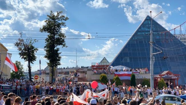 МВД Белоруссии: в воскресенье на акциях протеста было задержано 774 человека