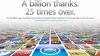 Количество загрузок программ в App Store превысило ...