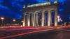 В Петербурге Московские триумфальные ворота исследуют ...