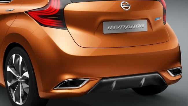 Nissan покажет в Женеве компакткар Invitation, который придет на смену Note