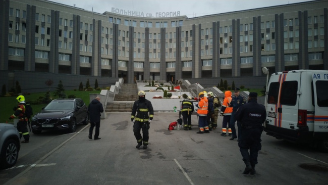 Жертвами пожара в больнице св. Георгия стало не пять, а шесть человек