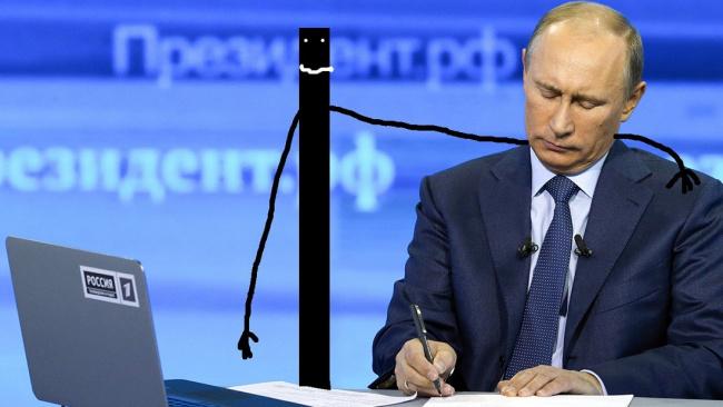 Путин прокомментировал падение доходов жителей России