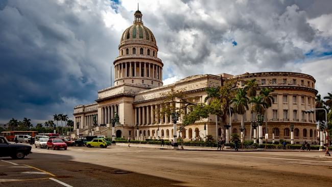 Россия займется восстановлением купола кубинского Капитолия