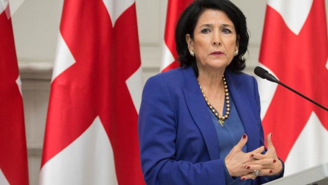 Президент Грузии озвучила условия возвращения к диалогу с Кремлем