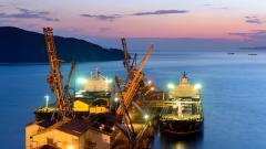 Морские порты РФ в январе-августе сократили грузооборот на 2,4%