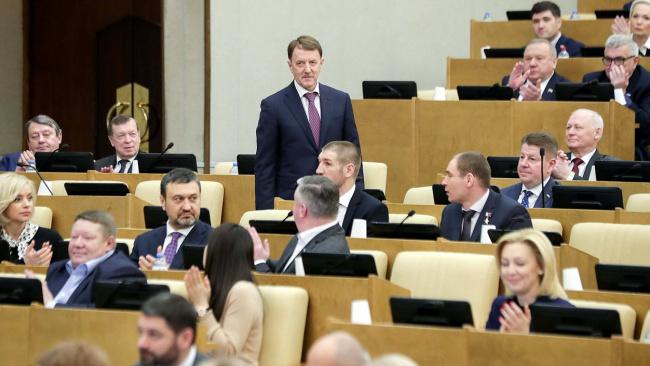 Заместителем председателя Госдумы стал Алексей Гордеев