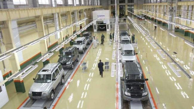 УАЗ остановит производство на 1,5 месяца