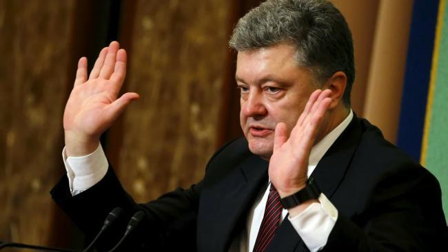 """Порошенко заявил, что в России начался """"глубокий кризис с 5% падением ВВП"""""""