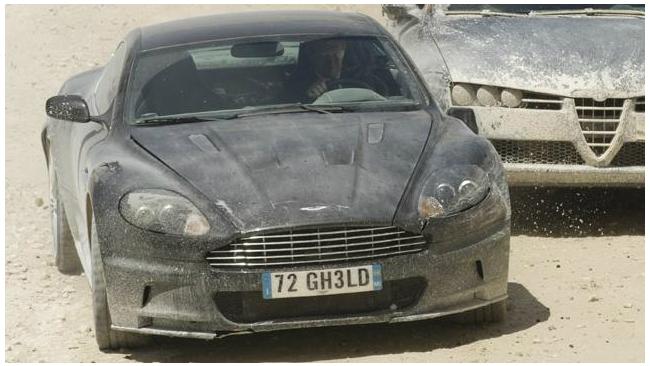 Aston Martin Джеймса Бонда продали за $400 тыс