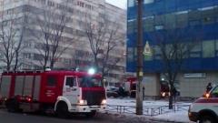 Во время пожара в сауне клуба Fitness Housе эвакуировали пять человек