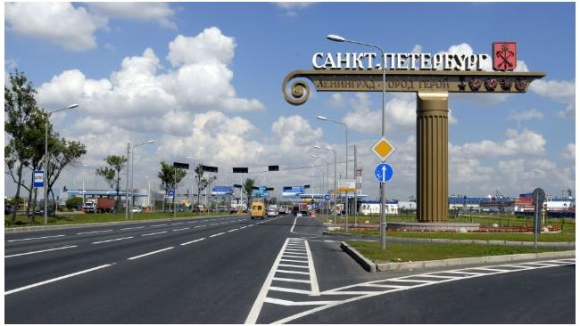 На Пулковском шоссе в 2015 году появится полоса для общественного транспорта
