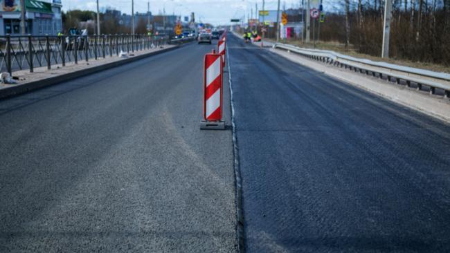 Ленобласть завершила ремонт участка дороги Гатчина - Ополье