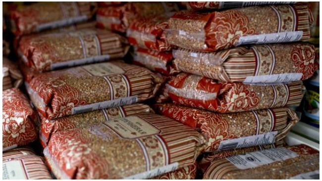 Закупочная цена на гречку в Петербурге подорожала в среднем на 121%