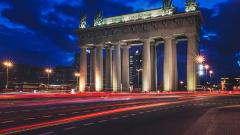 В Петербурге Московские триумфальные ворота исследуют перед реставрацией