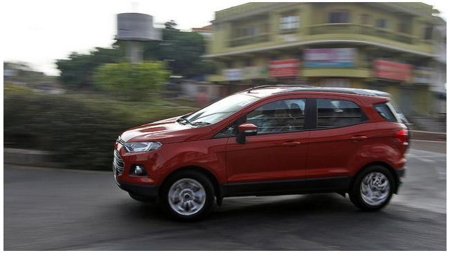 Ford EcoSport будет доступен в России начиная от 699 тыс. рублей