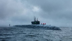 """Подводный крейсер """"Князь Владимир"""" завершил испытания в Белом море"""