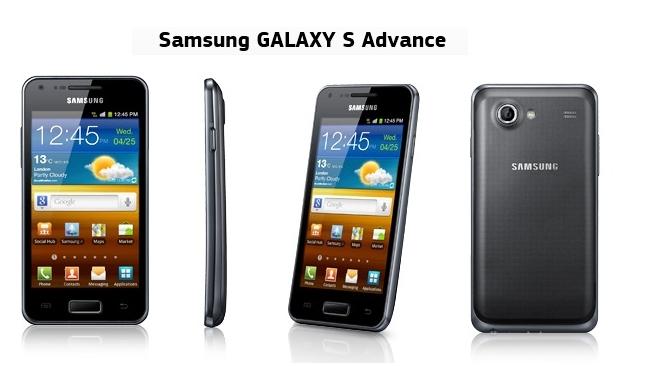 Новый Samsung Galaxy S Advance поступил в продажу