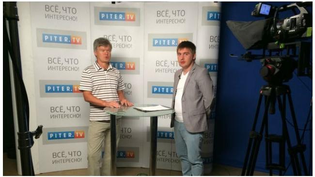 Канал Piter.TV вошел в десятку самых цитируемых СМИ Петербурга