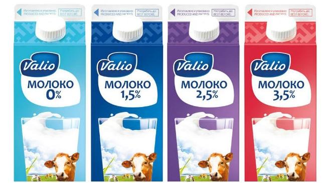"""Концерн Valio начинает выпуск молока и сливок на """"Галактике"""""""