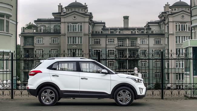 Hyundai Creta возглавила рейтинг самых продаваемых кроссоверов