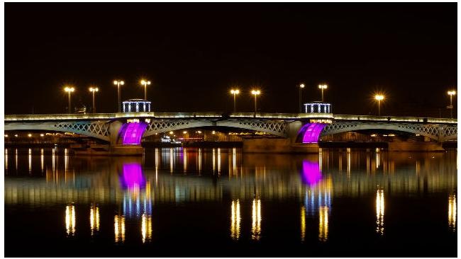 Благовещенский мост  в ночь на 13 мая будет разведен дольше обычного