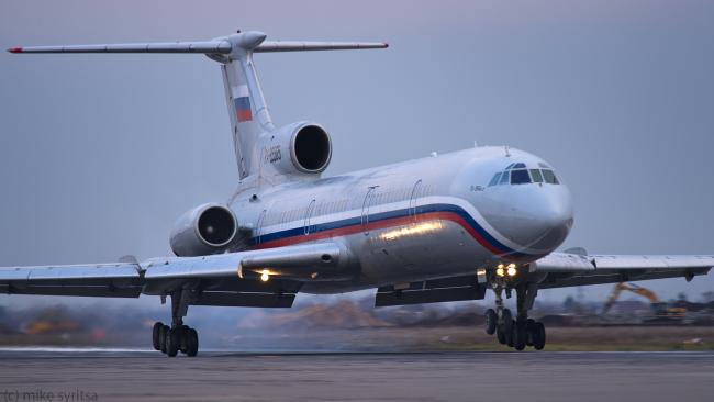 Источник: дозаправка Ту-154 в Сочи не планировалась
