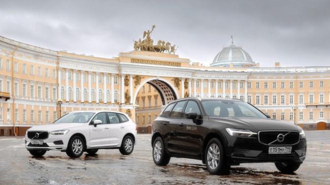 У петербургского каршеринга появятся 70 автомобилей Volvo XC60