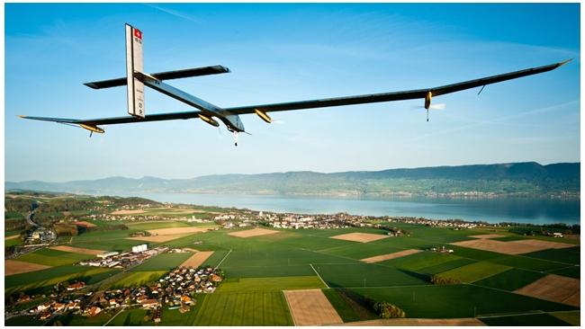 Самолет на солнечной энергии Solar Impulse отправился в первый межконтинентальный рейс