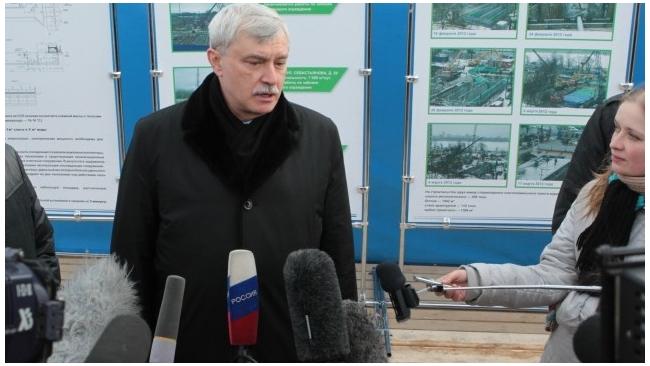 "Полтавченко обещал помочь банкротящемуся ""Вагонмашу"""