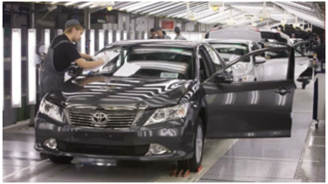 Завод Toyota в Петербурге подтвердил планы по удвоению мощностей в 2015 году