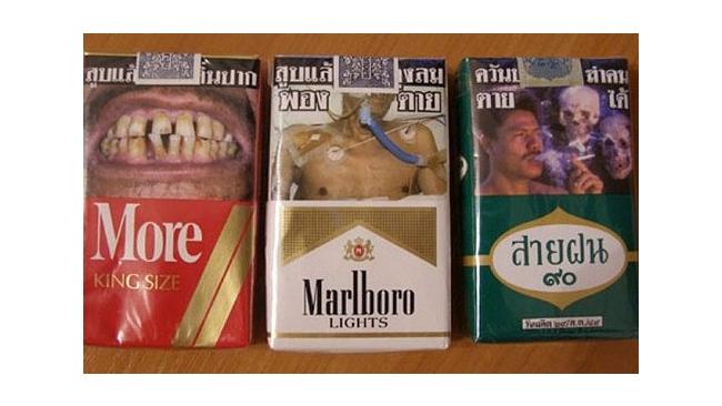 На российских пачках сигарет появятся устрашающие картинки
