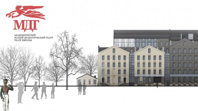 «Архитектурная мастерская Мамошина» остановила строительство новой сцены МДТ