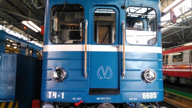 В Петербургский метрополитен в ближайшие месяцы поступят 16 новых вагонов