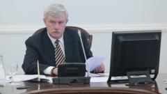 Губернатор Петербурга открыл Охтинский мыс для строительства