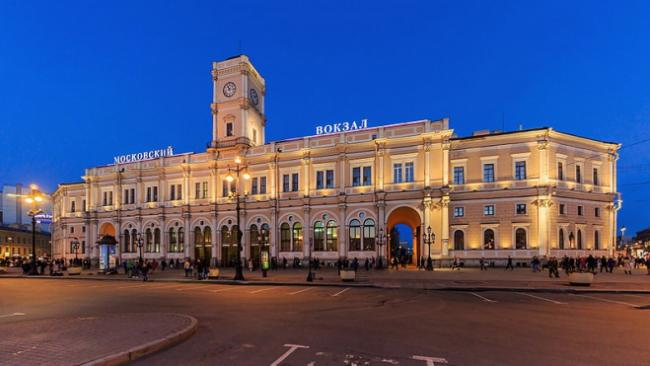 РЖД: проведена дезинфекционная обработка всех вокзалов Петербурга