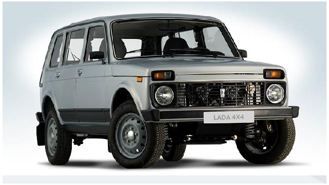 LADA 4Х4 возглавила рейтинг внедорожников, самых популярных в России в 2011 году