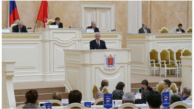 Закс Петербурга утвердил новый состав Правительства