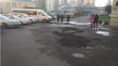 Жителям Невского района придется два года ждать ремонта тротуара