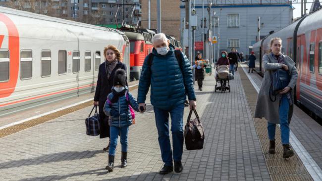 РЖД на фоне коронависируса временно уменьшили глубину продажи билетов на поезда