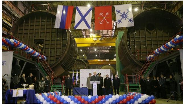 """На """"Адмиралтейских верфях"""" заложили две подлодки для ВМФ РФ"""
