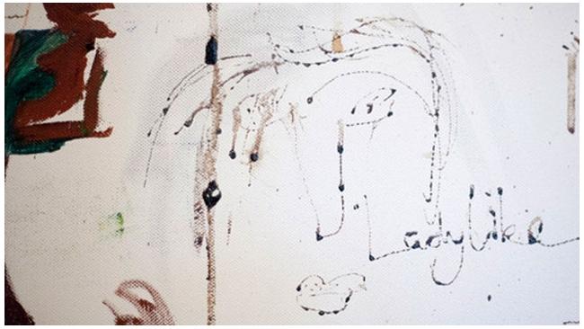 """""""Кровавый"""" автопортрет Эми Уайнхаус продан с молотка дешевле оценки"""
