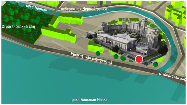 """Участок на Ушаковской набережной отошел холдингу """"Кловер Групп"""""""