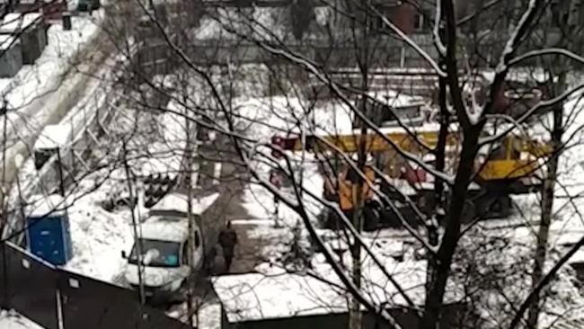 """Журналисты сняли на видео строительство """"Воин-В"""" вопреки запрету"""